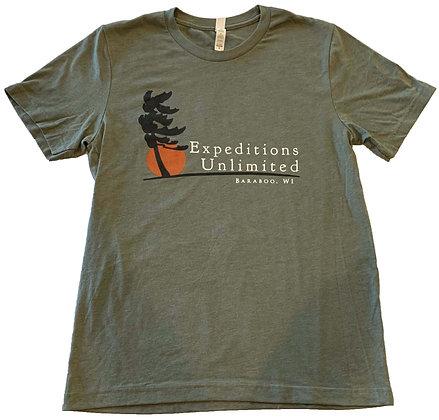 Heather Military Green T-Shirt