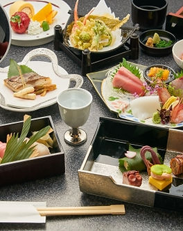 Japanese full course meal by professional chef