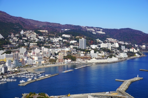 Atami facing Sagami Bay