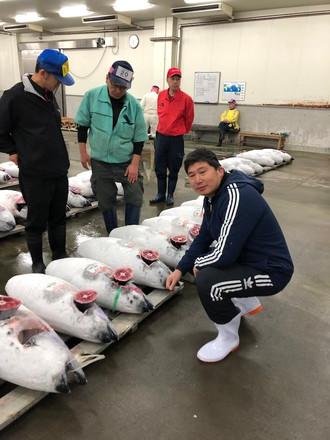 JCI Fish market Visit