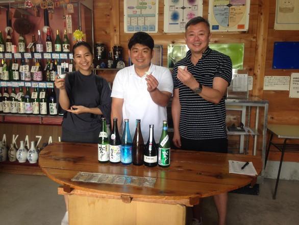 JCI Sake Shop Visit