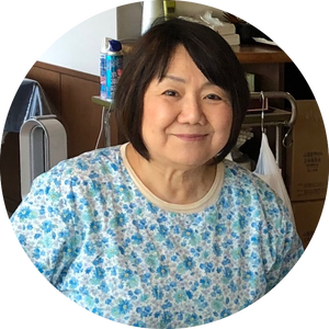 Japanese home cooking instructor at Japan culinary institute