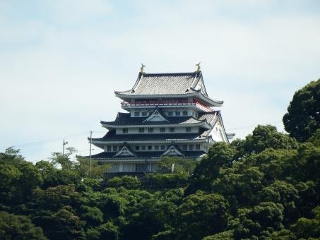 Atami Castle on top Mt.Nishikigaura