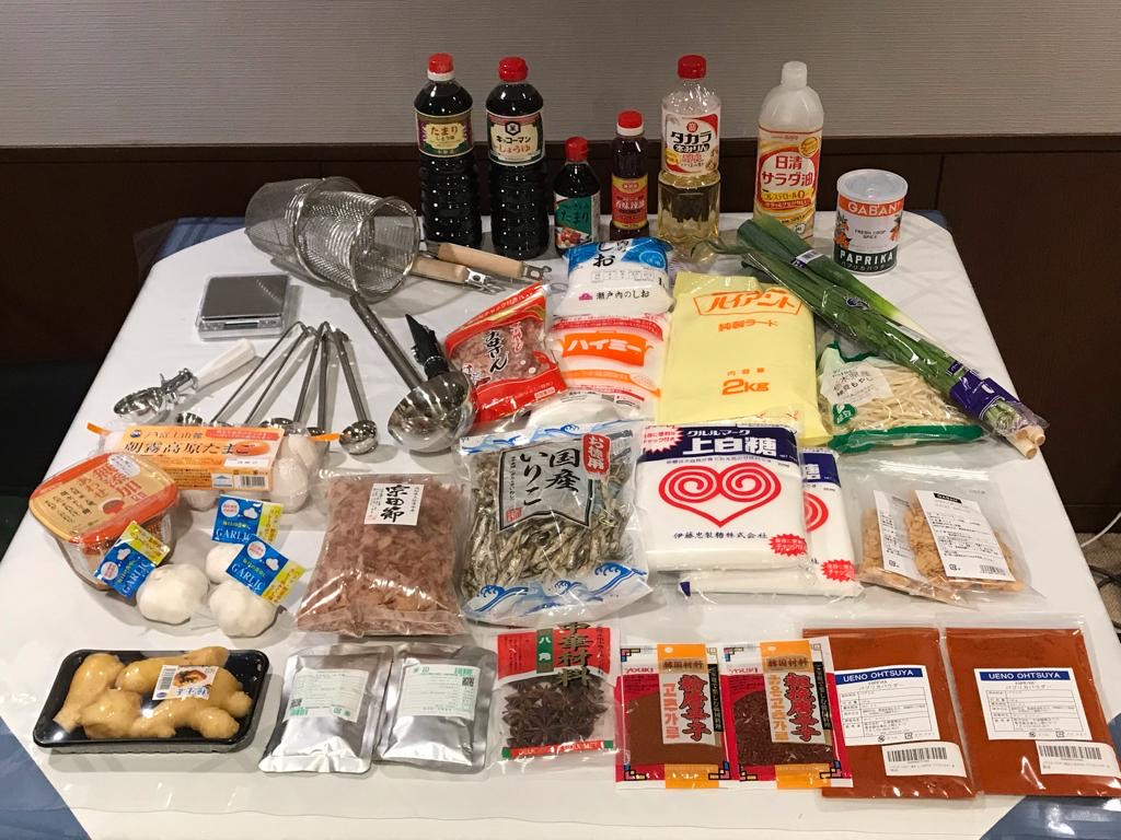 JCI Ramen ingredients