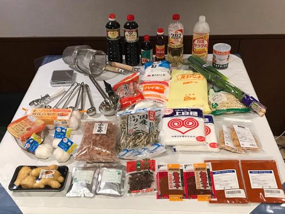 JCI Ramen ingredients