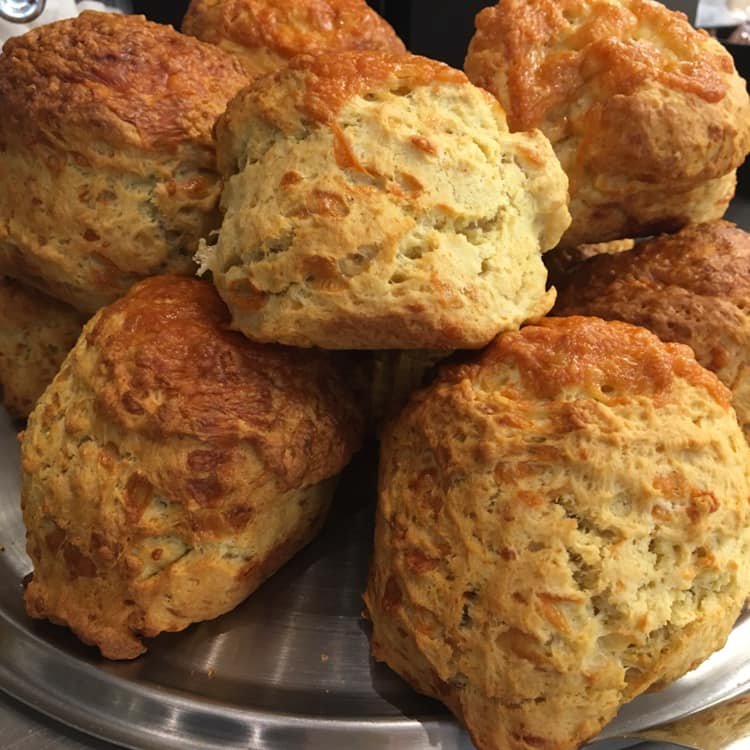 Oak Tree's Cheese Scones