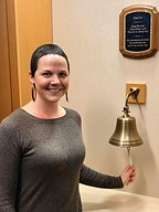 cancer treatment ringing the bell after radiation