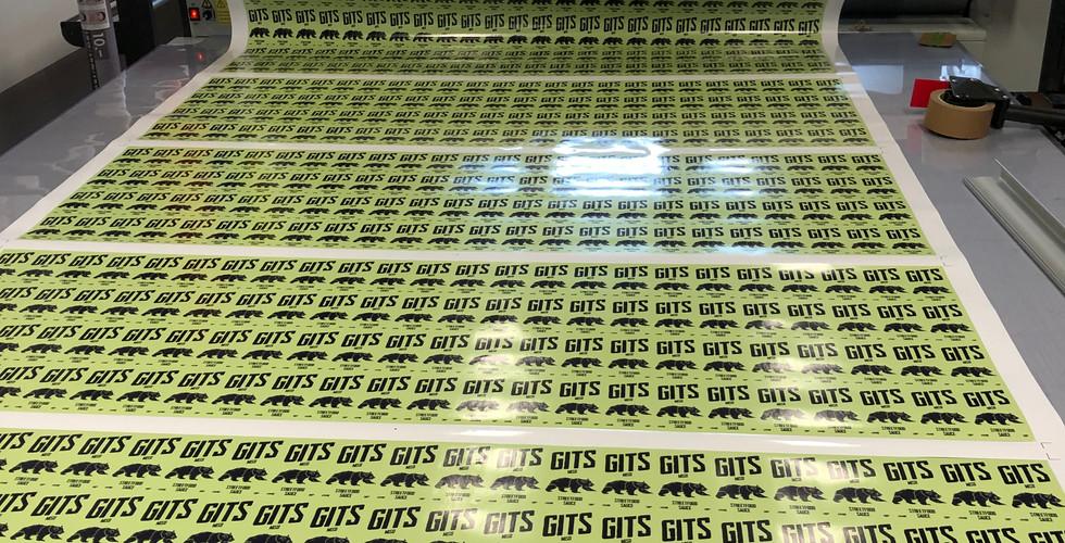 GITS Etiketten