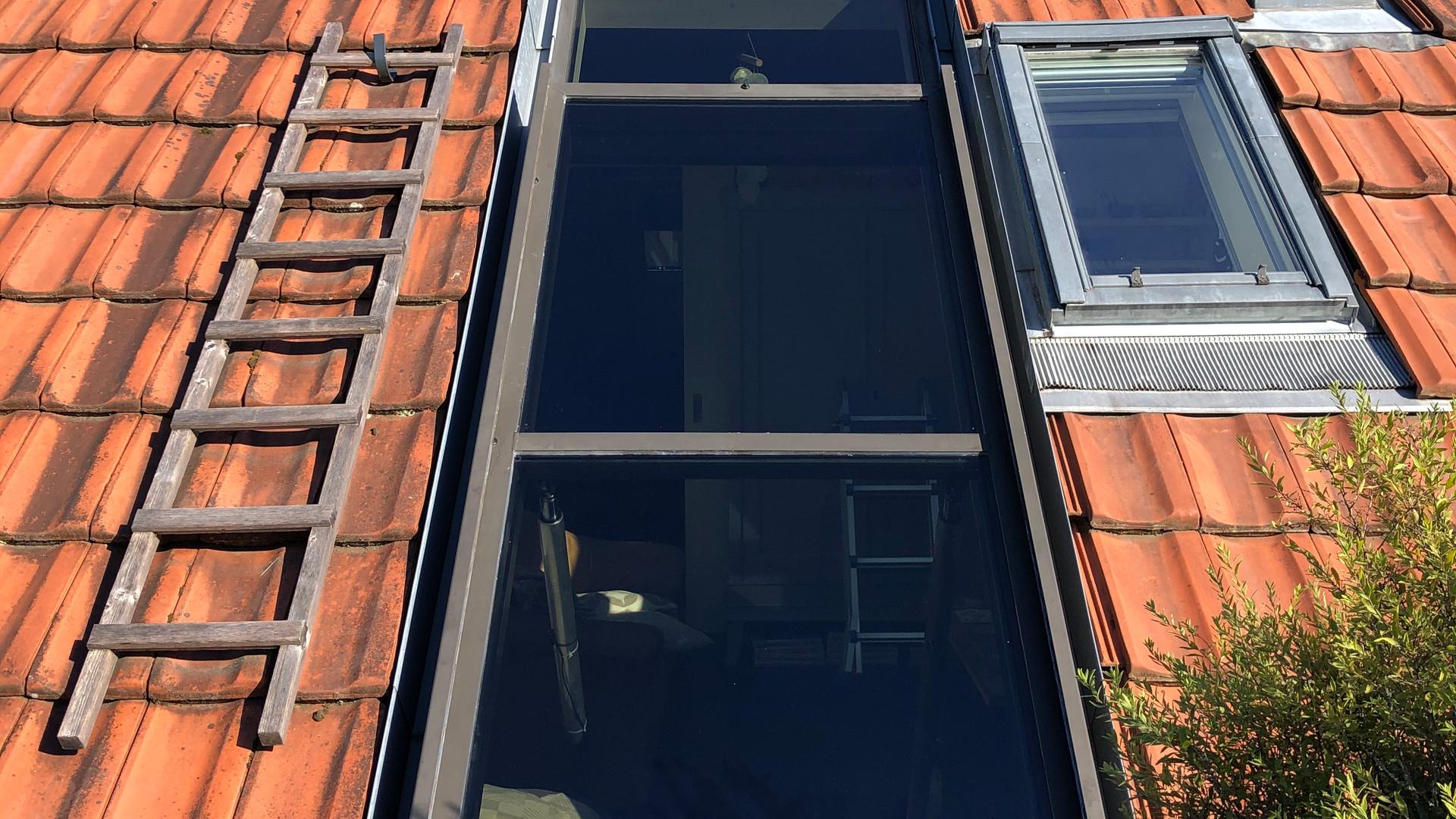 Folierung Dachfenster in Oberwinterthur mit Sonnenschutzfolie von 3M-Prestige40