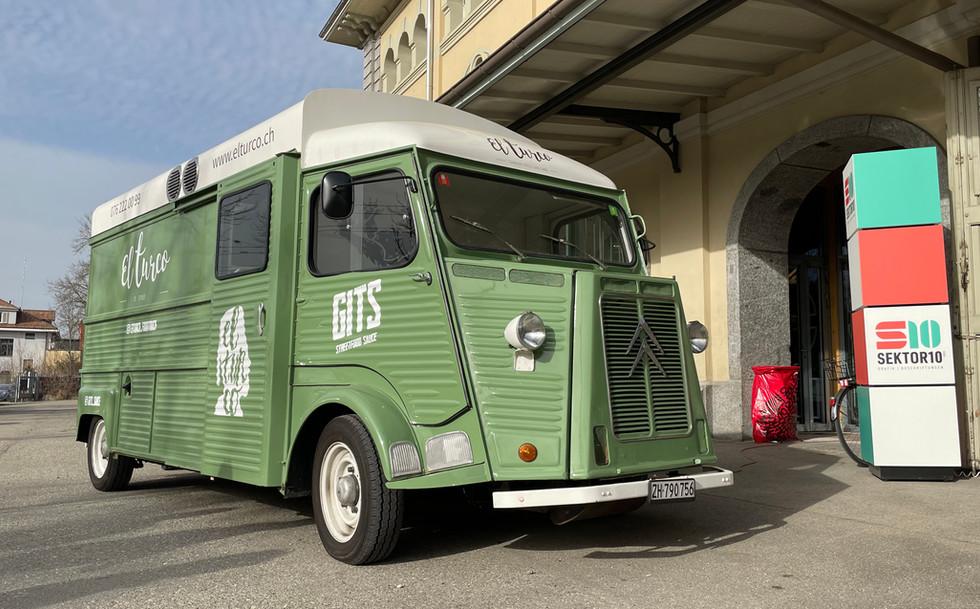 El Turco Foodtruck Fahrzeugbeschriftung