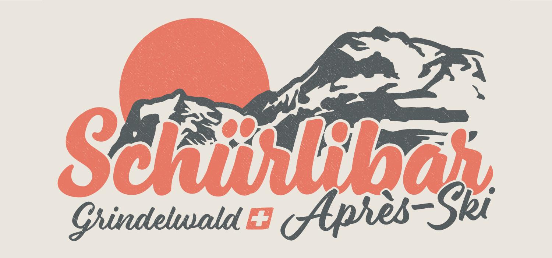 Logogestaltung Schürlibar, Grindelwald