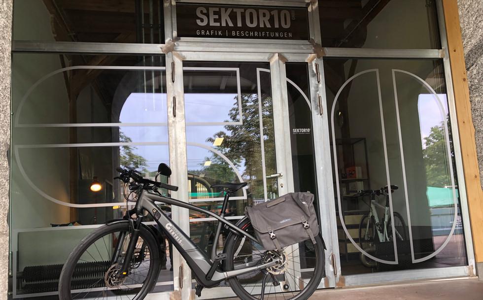 Beschriftung E-Bike Elektro Gerteis AG