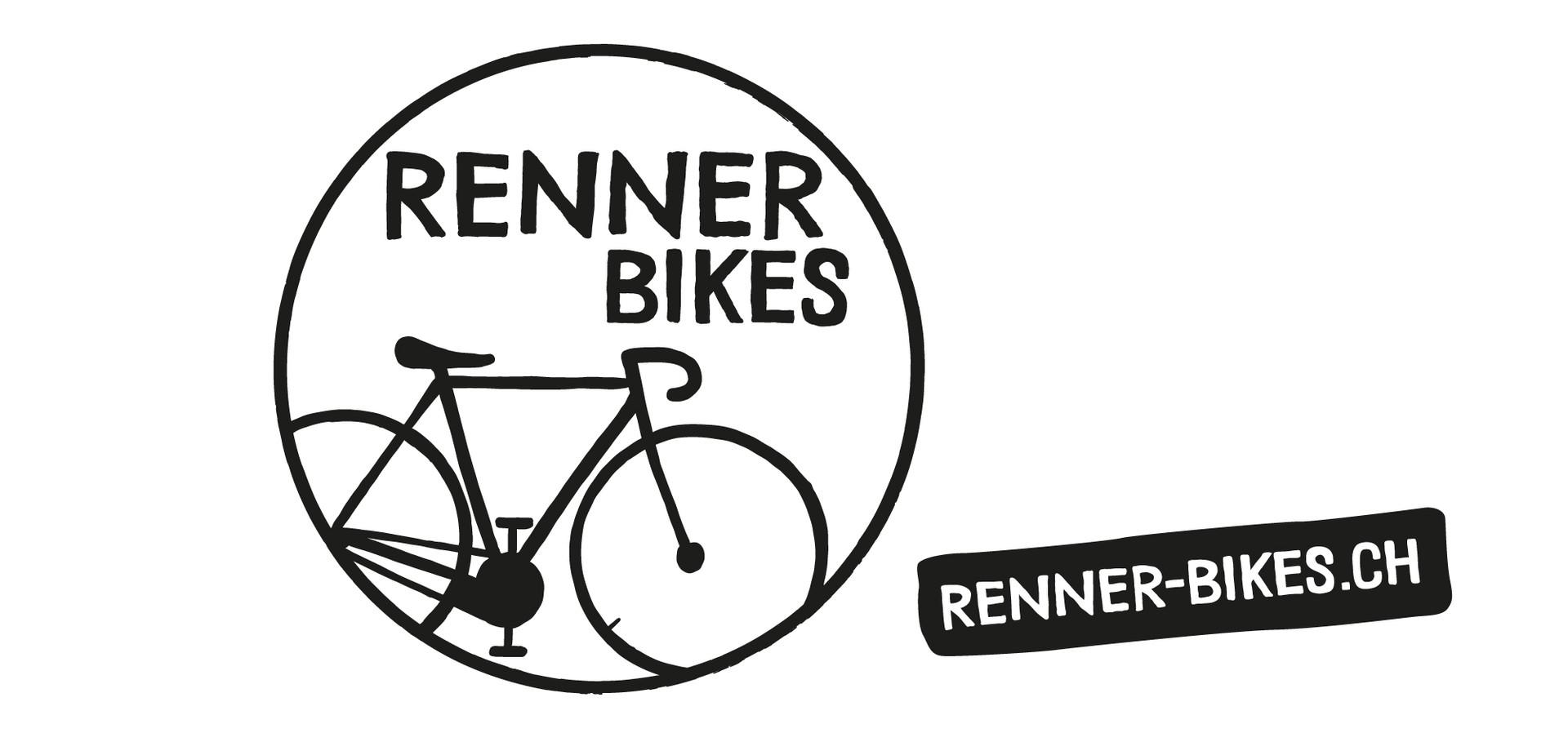 Logo Reinzeichnung für Aufkleber Renner Bikes, Zeughaus