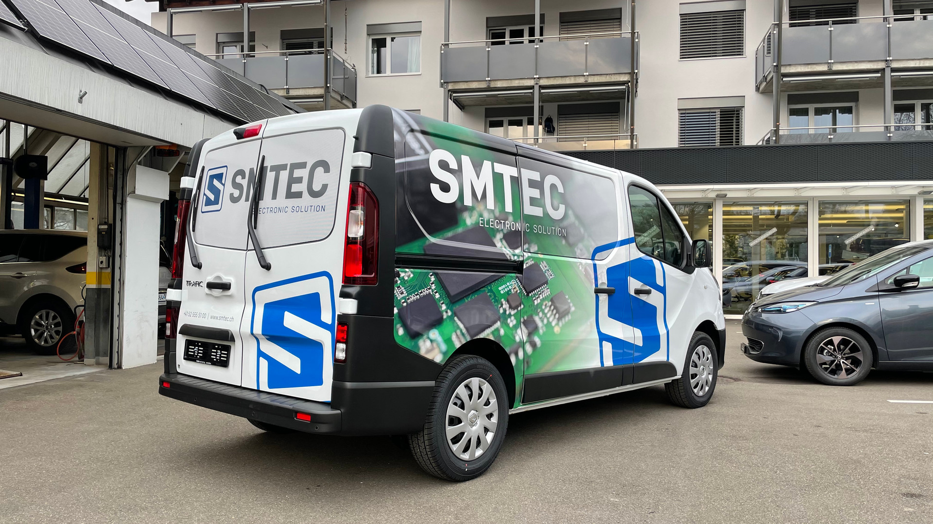 SMTEC AG Fahrzeugbeschriftung