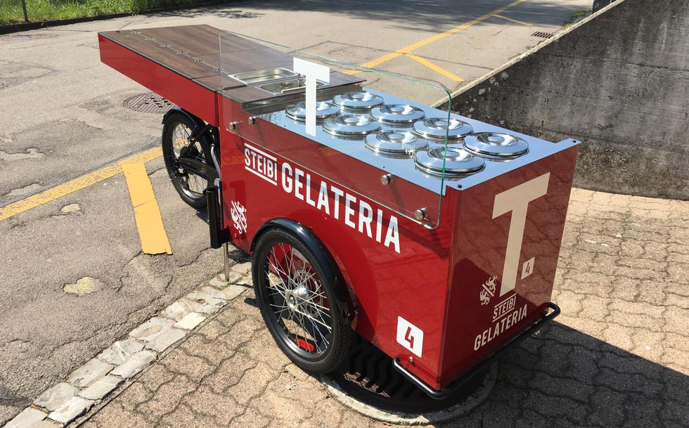Fahrrad Beschriftung Steibi Tabacchino 2019