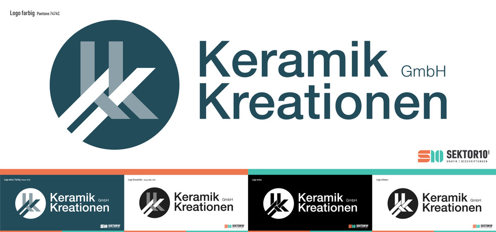 Logo Design Keramik Kreationen GmbH