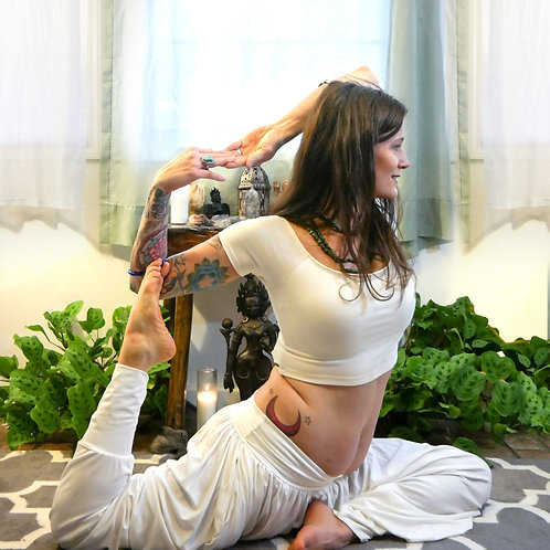 One Month Unlimited Yoga- In Person or on Zoom