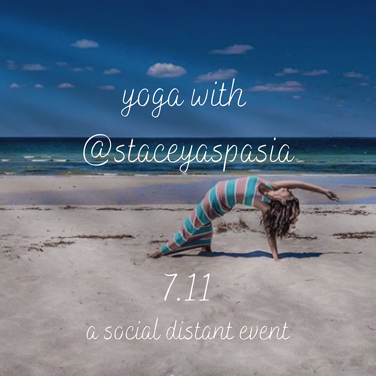 Social Distance Yoga x Hosted by Stacey Karelas