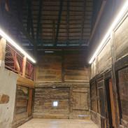 Dachboden Reetdach