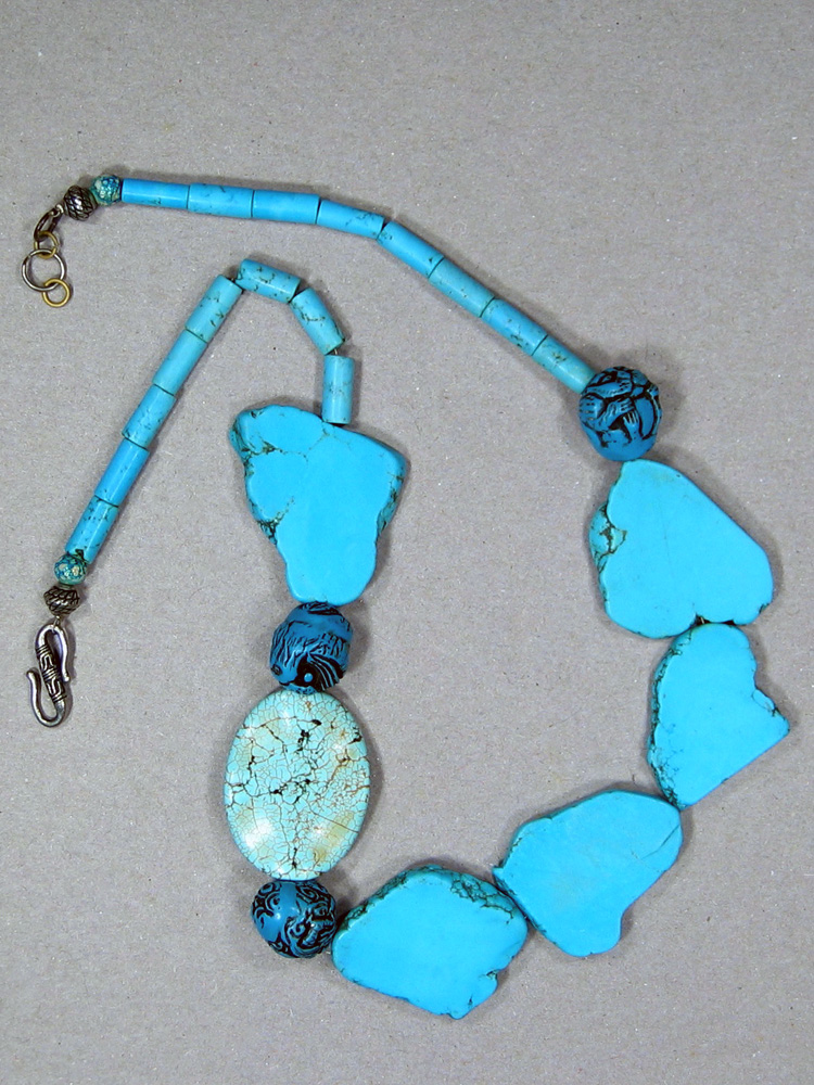 Turquoise Freeform