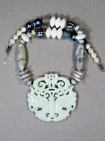 White Jade Butterfly