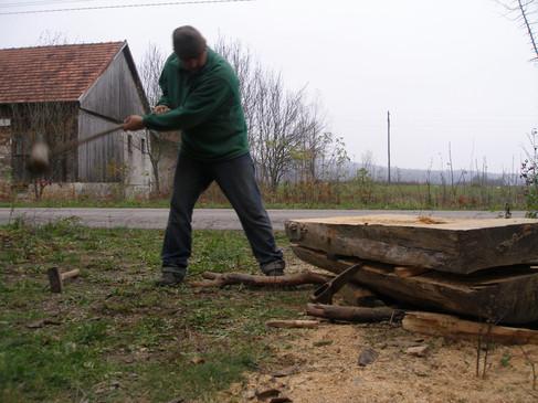 Braking the log