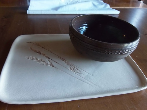 Plate and cup