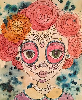 Carla Davis | Sugar Skull Girl
