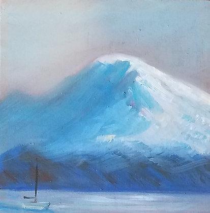 Melissa Wadsworth | Mt. Rainier Snow Glow