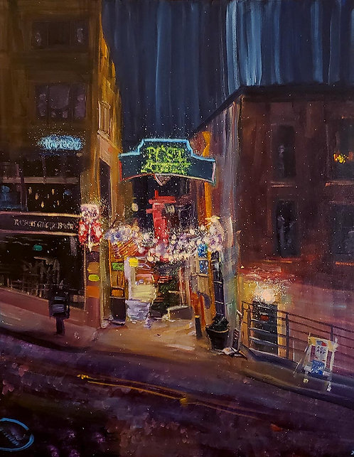Ian Shearer | Welcome to Post Alley | 2D