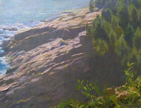 Anthony Watkins | Above Monument Cove | 2D
