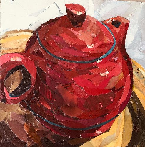 Diana Whitley Gordon | Red Teapot | 2D