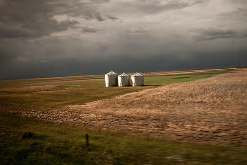 Judith Leckrone Lee   Three Silos, Between Havre and Shelby, MT   Photography
