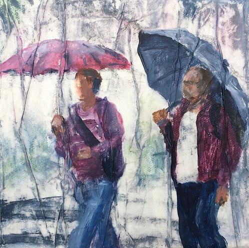 Julie Marcelia | Walk in the Rain | 2D