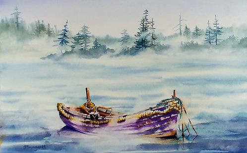 Karen Brungardt | Ghost Boat | 2D