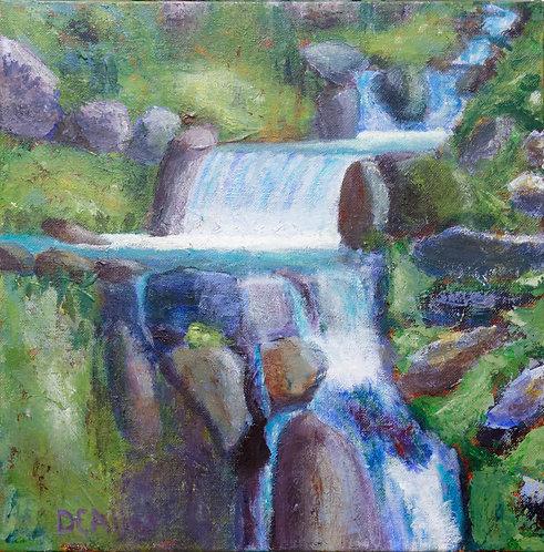 David Allen | Alpine Stream | 2D
