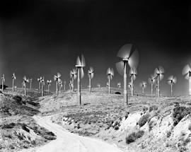 Tehachapi Wind Turbines - Tehachaphi Pass, CA 2005