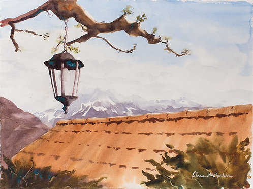 Eileen McMackin   Along Lake Annecy   2D   Honorable Mention