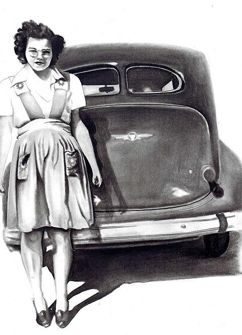 B Murray | Washington Woman | 2D