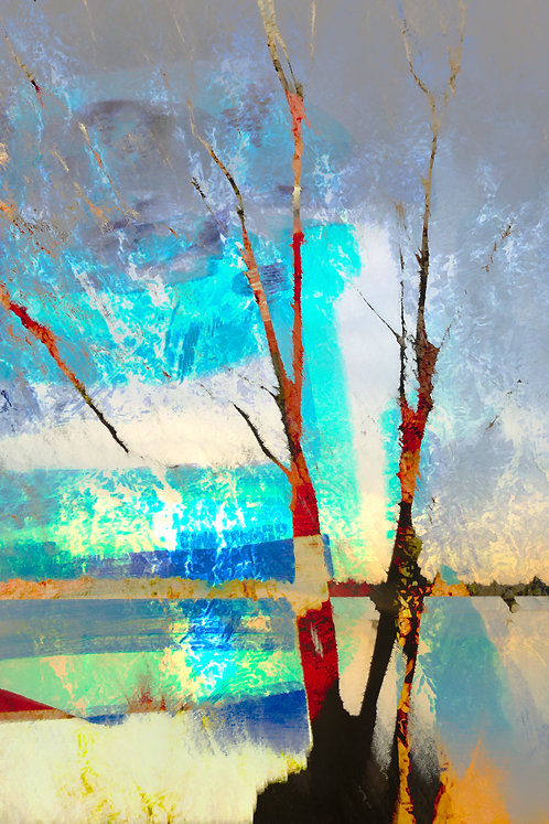 Neil Berkowitz   Winter at the Lake   2D