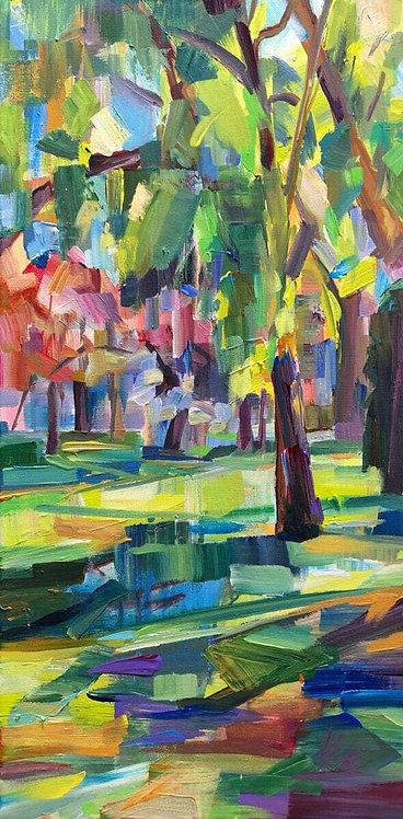Brooke Borcherding | Spring Green By the Lake | 2D