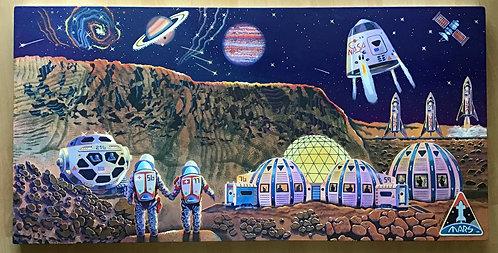 Jerry Steffen Jr | Mars Sweet Mars | 2D
