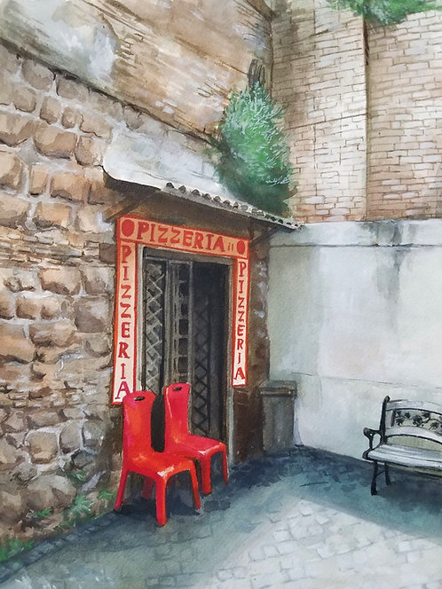 Cassandra Greye   Rome Pizzeria   2D