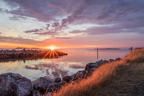 Alison Mehravari | Orcas Island Sunset | Photography