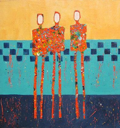 Sue Robertson |Three Friends