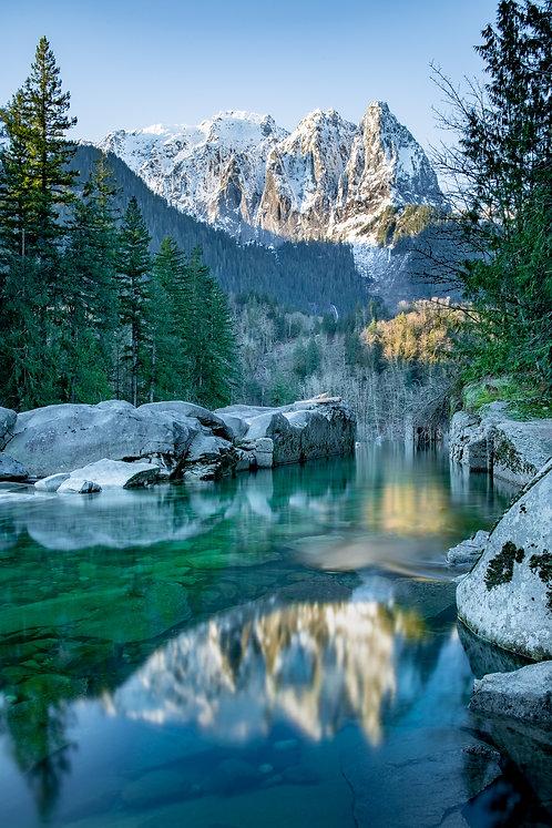 Chris Tompkins   Mountain Morning Reflection   Photography