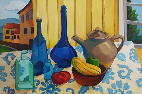 Greta Burco | Still Life with Squash | 2D