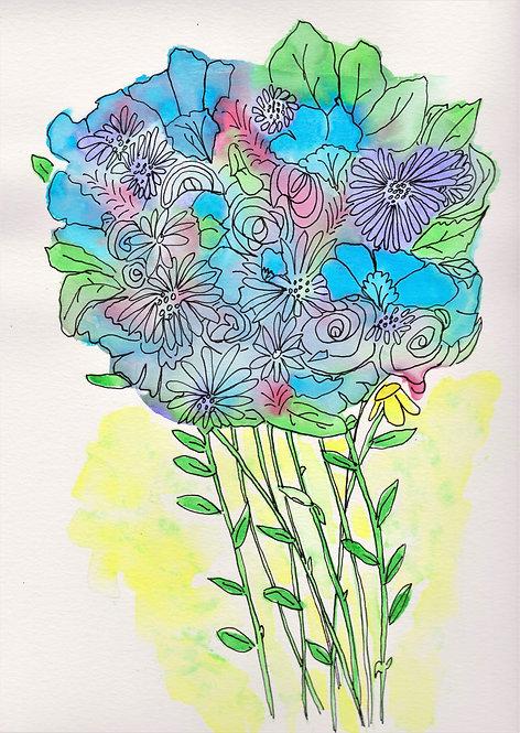 Elisabeth Mitchell   August Bouquet   2D
