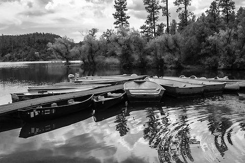 Mercedes Perez | The Boats at Lynx Lake | Photography