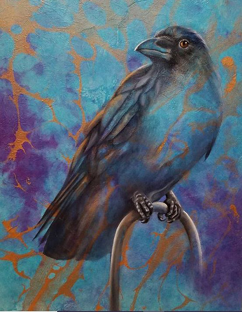 Tracy Wallschlaeger | Something to Crow About | 2D
